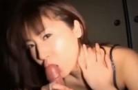 Korean gf gives me a great handjob & Blowjob video