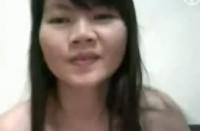 Nina, thai gf skinny body & masterbates for her bf video 2