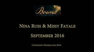 BOUND September 2016: Nina Russ & Miss Fatale