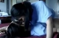 Asian lesbians having fun with each other amatuer video